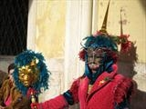 Dramatic, Venice Carnival by Julia Bond, Photography