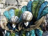 Wow the crowds, Venice Carnival by Julia Bond, Photography